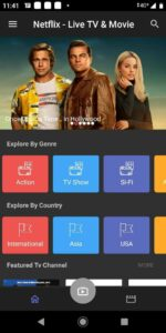 LIve watch Netflix apk