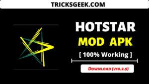 Hotstar Mod apk 2020