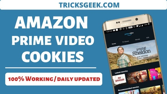 Amazon prime video cookies 2020