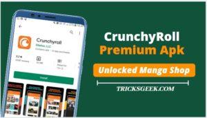 Crunchyroll Premium Apk 2020