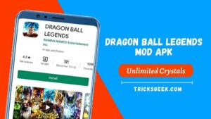 Dragon Ball Legends Modded For Android